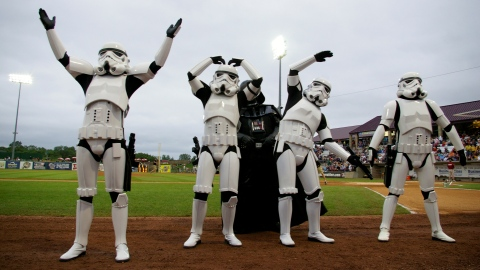 Star Wars Night for 2011 is on June 11. It is one of several promotional events already on the Timber Rattlers calendar for this season!