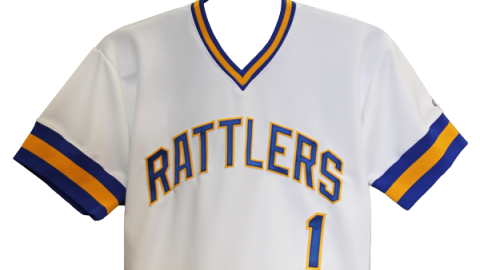 The Wisconsin Timber Rattlers will wear these jerseys during Sunday home games in 2011.