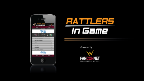 Presenting Rattlers In Game for your mobile phone. Coming Opening Day, 2011!