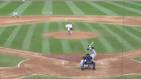 Matt Miller fires a strike to the plate in the seventh inning of game one on April 29, 2011.