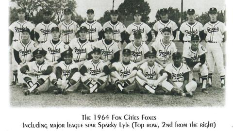 The 1964 season was the third year for the Foxes in the Midwest League.