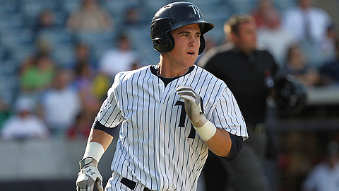 Tyler Austin hit .322 with 23 steals over three levels in 2012.